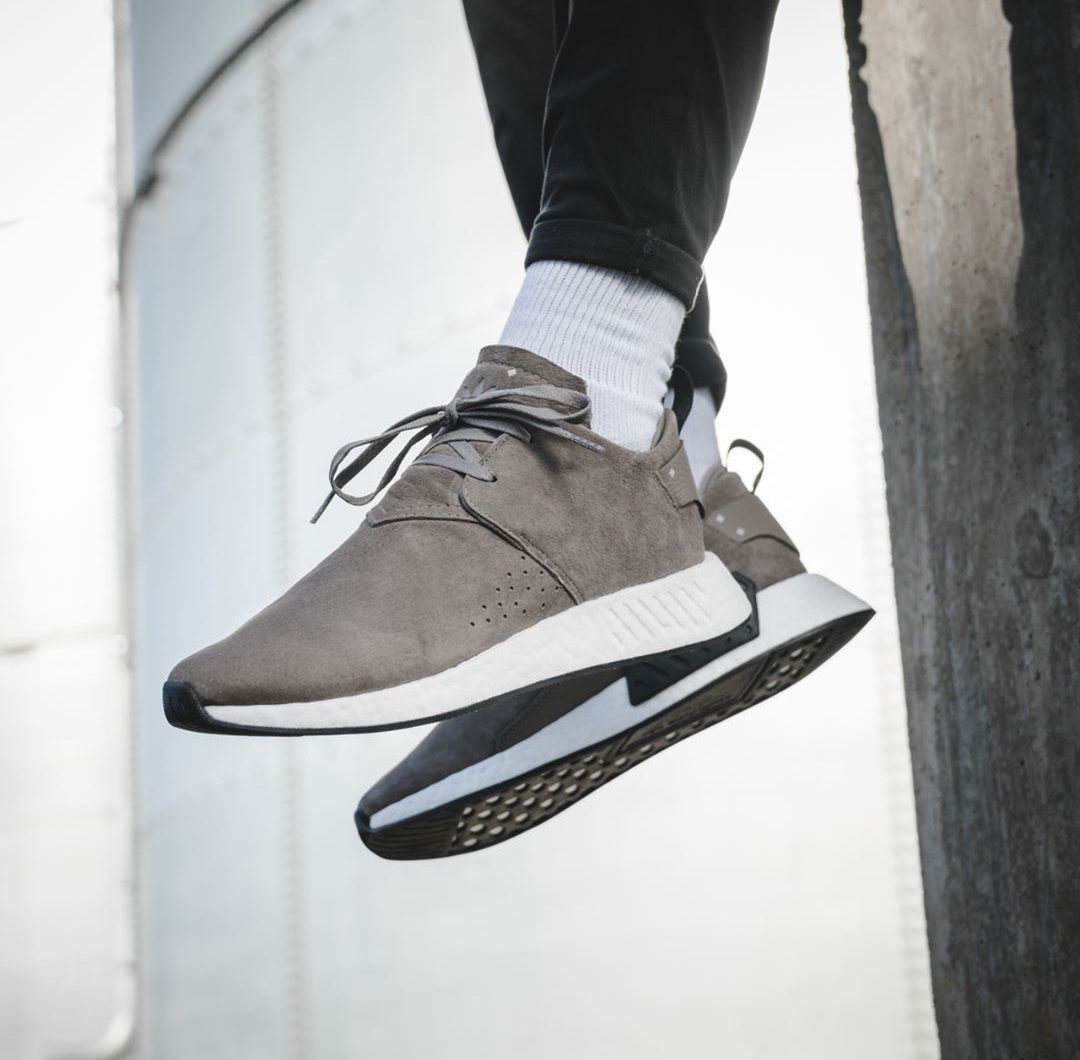 256365582 adidas NMD C2 Suede