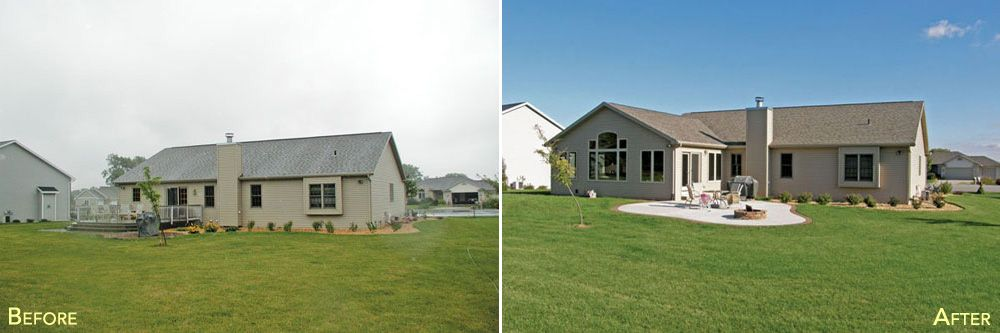 Ranch House Additions Before And After Extremodel11 Before And After Ranch House Additions Ranch House Remodel Ranch Remodel