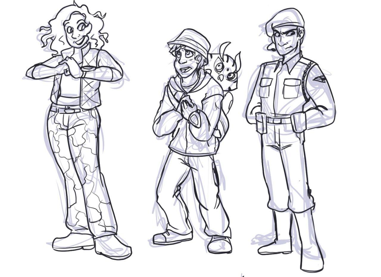 laura doodles: Illustration Friday - Pink \
