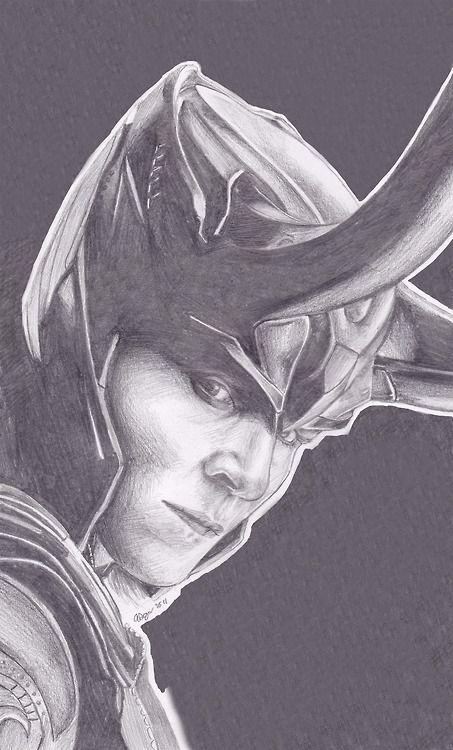 Loki Art  Tom Hiddleston