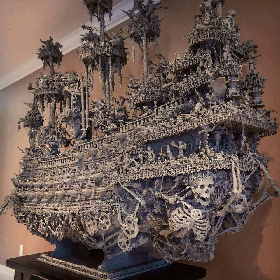 ghost ship | warhammer models i like in 2018 | pinterest | ghost
