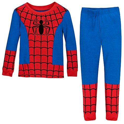 Disney store Spiderman Pajama PAL Set New 4,5,6,7,10