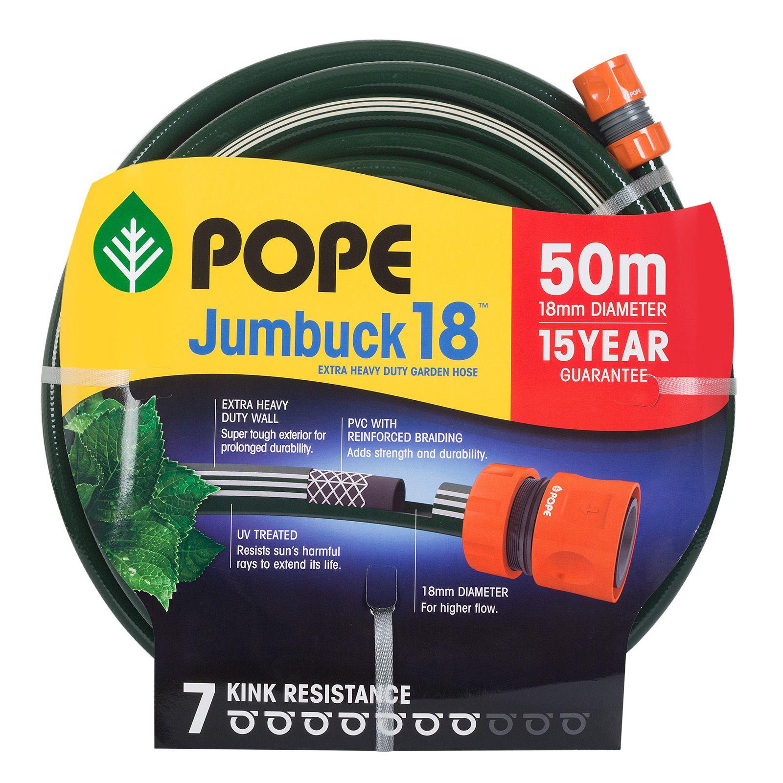 Find Pope 18mm x 50m Jumbuck Garden Hose at Bunnings