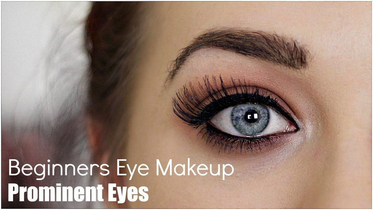 Video Makeup Tutorial Beginners Eye Makeup For Prominent Eyes