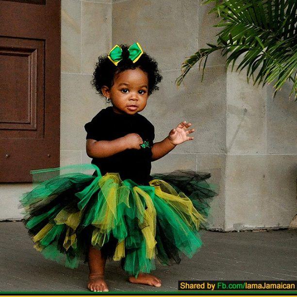 Jamaica Hair Color: Black Baby Girls, Beautiful Black