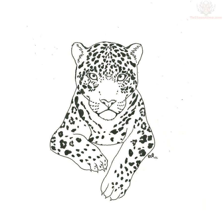 Jaguar Tattoo Images & Designs | Tattoo Drawings Of Jaguars | Pinterest