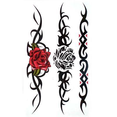 Rose Tattoo Vine Designs Tribal Tattoos Tribal Rose Tattoos Tribal Tattoo Designs
