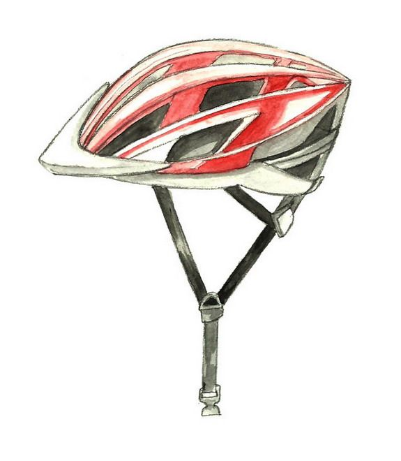 Wikihow To Draw A Bike Helmet Via Wikihow Com Drawings