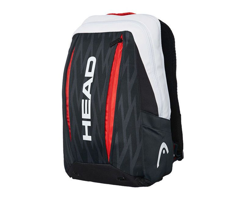 Head Djokovic Backpack Tennis Black White Sports Squash Rucksack Nwt 283097 Head Tennis Bag Sport Bag Backpacks