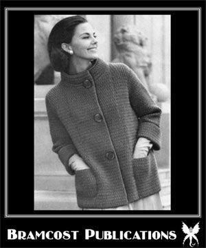 Vintage Knitted Coat Pattern