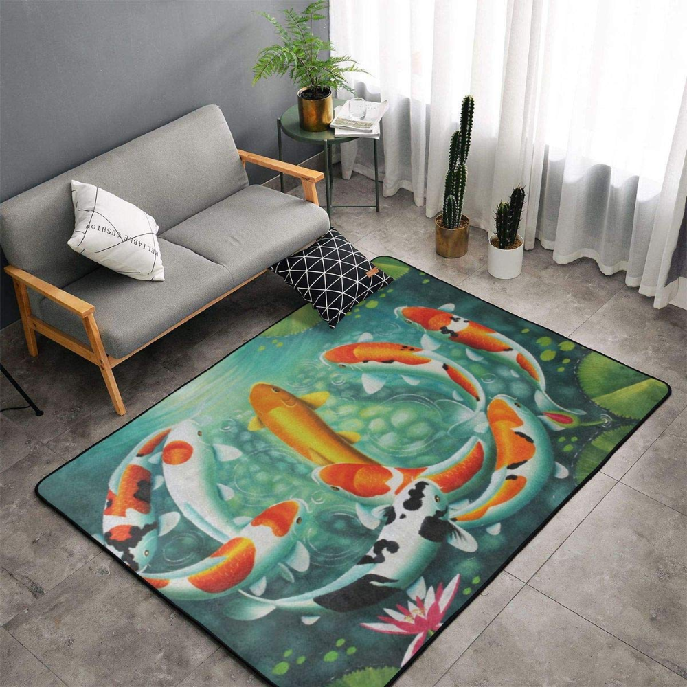Amazon Com Memory Foam Area Rug For Living Room Playroom Dorm