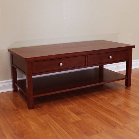 DonnieAnn Company Oakdale Coffee Table, Red