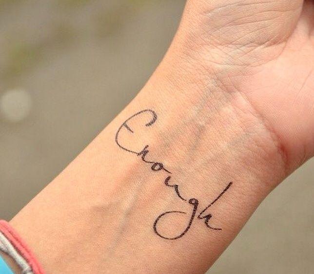 Inspiratie 19 Tattoos Op Je Pols Tattoos Wrist Tattoos
