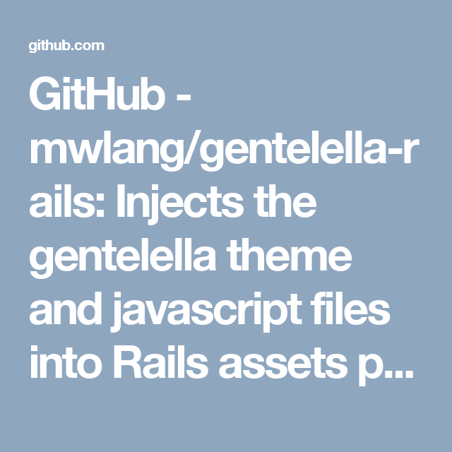 GitHub - mwlang/gentelella-rails: Injects the gentelella