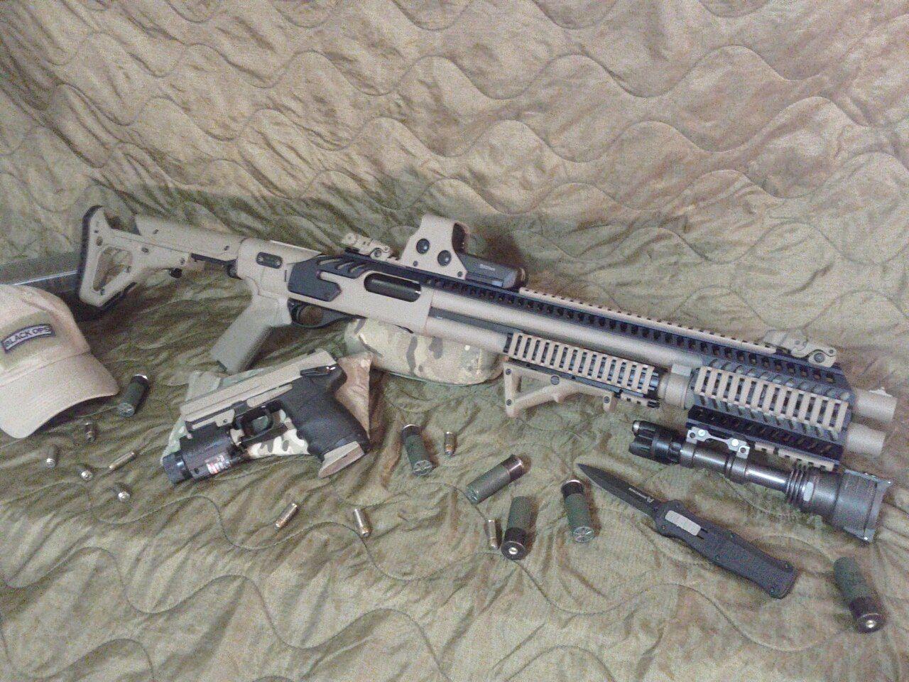 Rhino rail 870 | Shotguns | Guns, Tactical shotgun, Shotgun