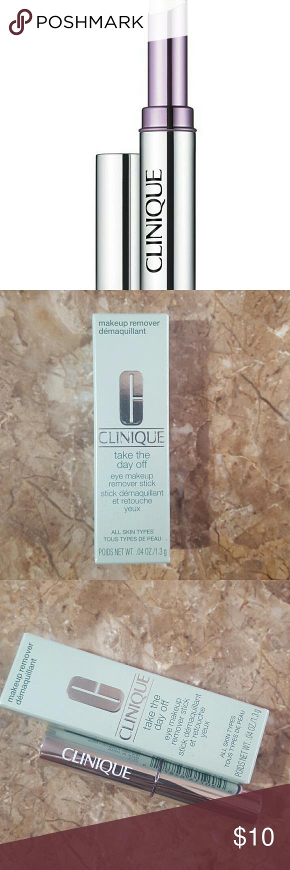 CLINIQUE Eye makeup remover stick NWT Eye makeup remover