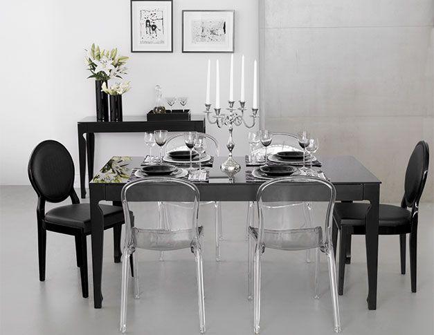 Jantar Tok Modernas E Atuais As Cadeiras Transparentes Dao Leveza