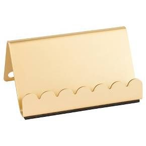 Sugar Paper® Business Card Holder - Gold : Target | Home- Office ...