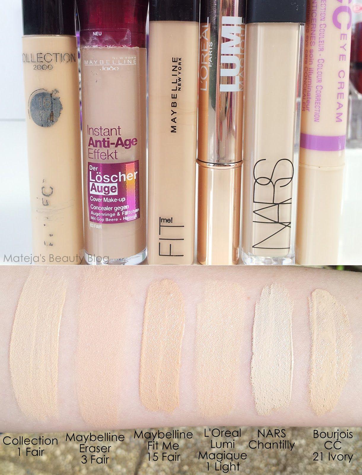 Matejas Beauty Blog Maybelline Fit Me Concealer 15 Fair
