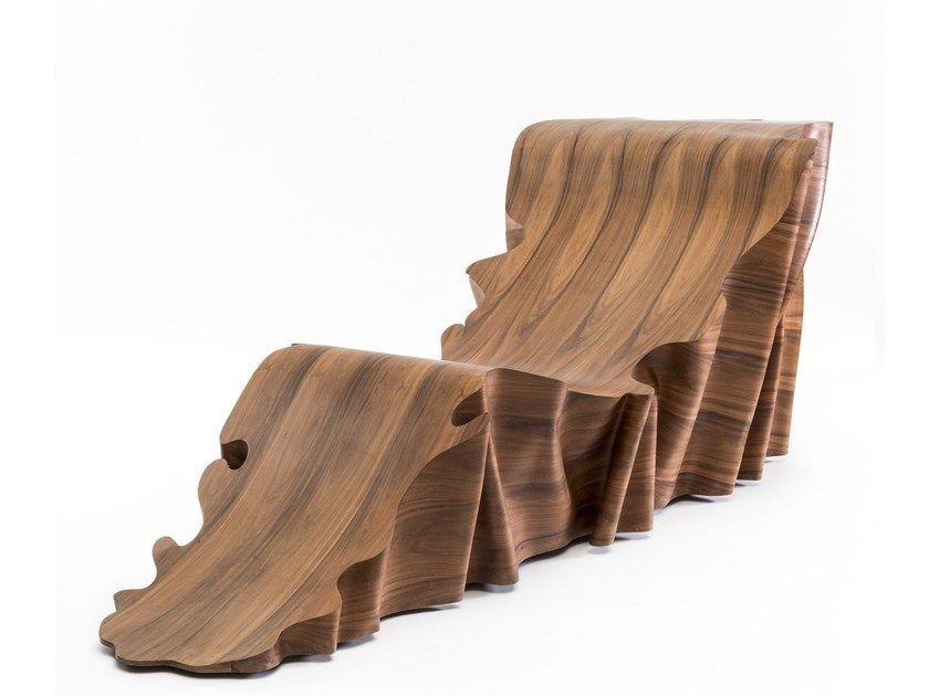 Buy Online Una Chaise Longue By Secondome Edizioni Rosewood Chaise Longue Design Stefano Marolla Una Articolo Indeterm Wood Design Creative Furniture Wood