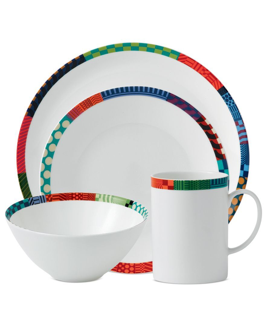 Royal Doulton Dinnerware, Paolozzi 4 Piece Place Setting