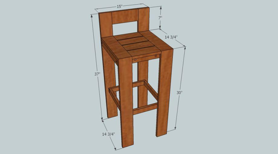 Diy Wood Stool Diy Wood Bar Stool Plans Free Pdf Plans Uk Usa Nz