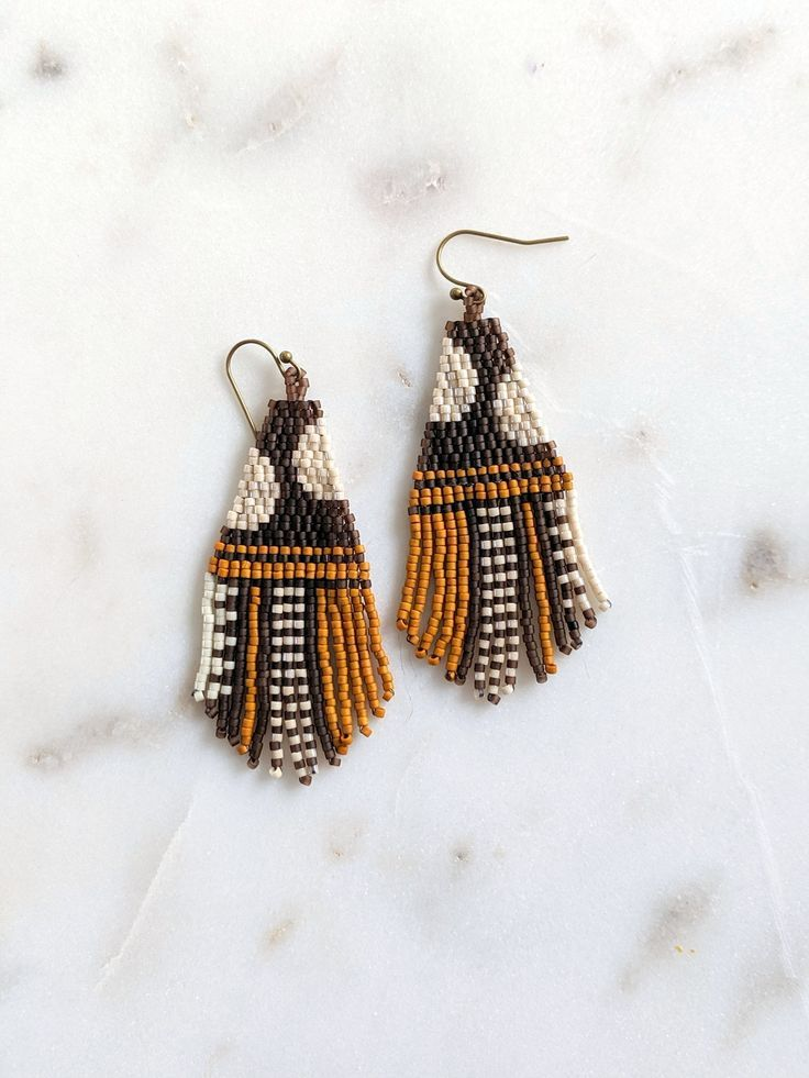 beaded earrings diy Jewelry Making