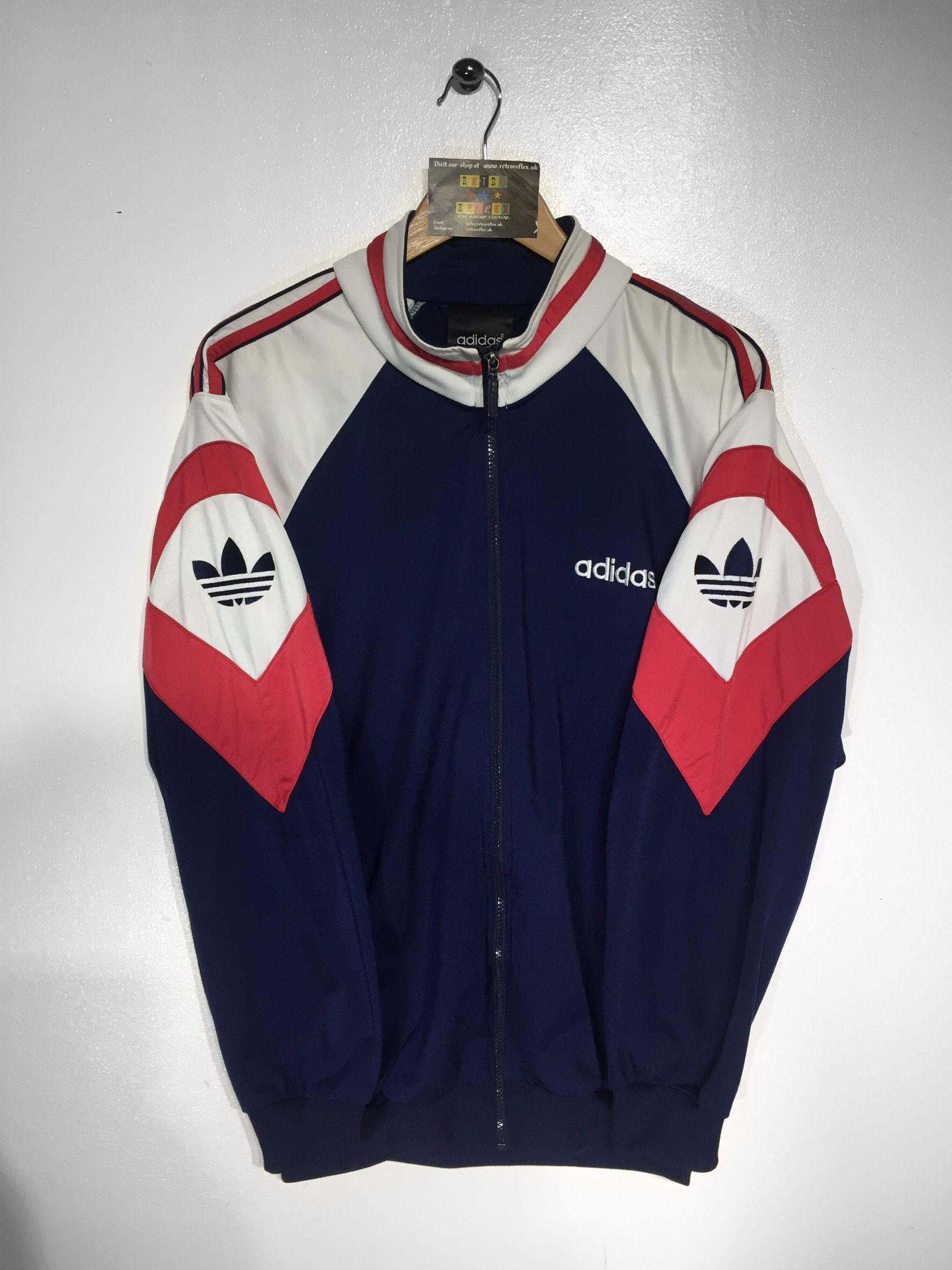 True Vintage Adidas Trainingsjacke Sportanzug Oldschool