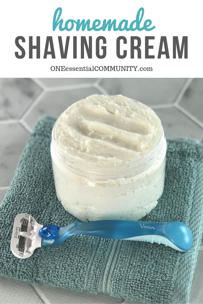 Photo of DIY shaving cream