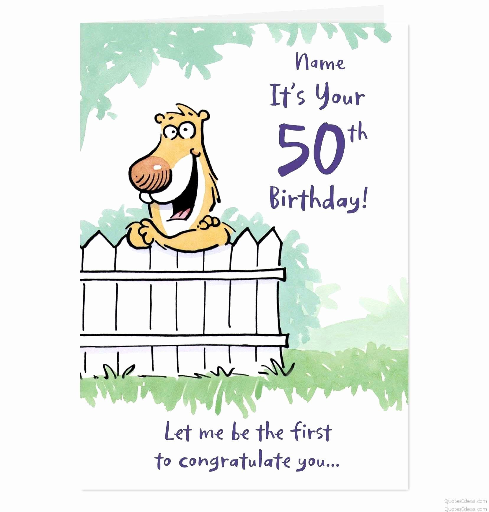 50th Birthday Card Messages In 2020 Funny Birthday Card Messages
