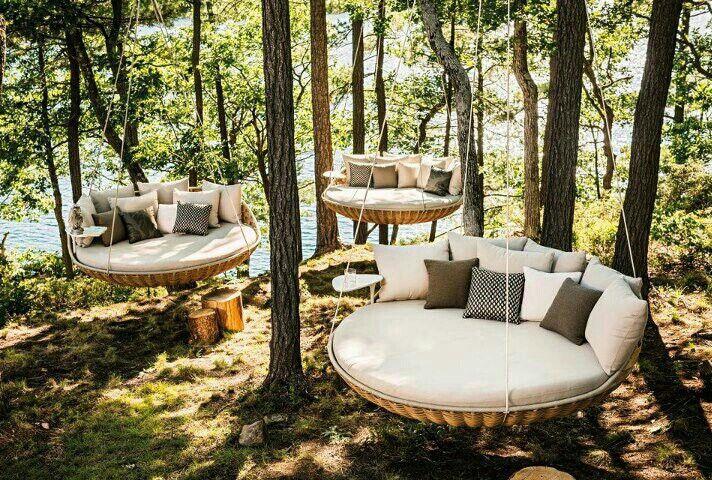 Columpios columpios sillones colgantes muebles de - Columpios de exterior ...