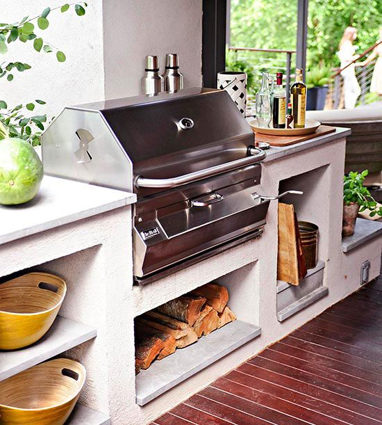 Beyond The Barbecue 15 Streamlined Kitchens For Outdoor: Outdoor Kitchen Grill, Outdoor Kitchen
