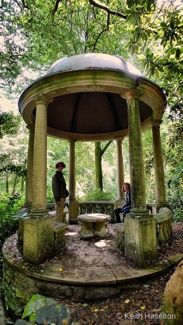 Portmeirion garden folly