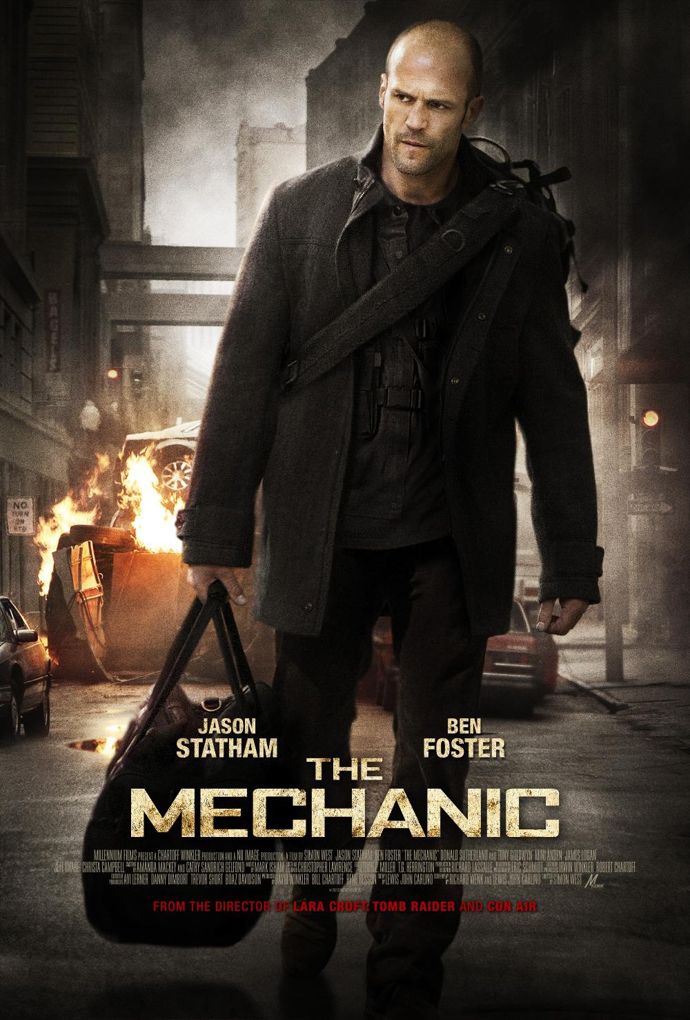 The Mechanic In 2021 Jason Statham Statham Action Movie Poster