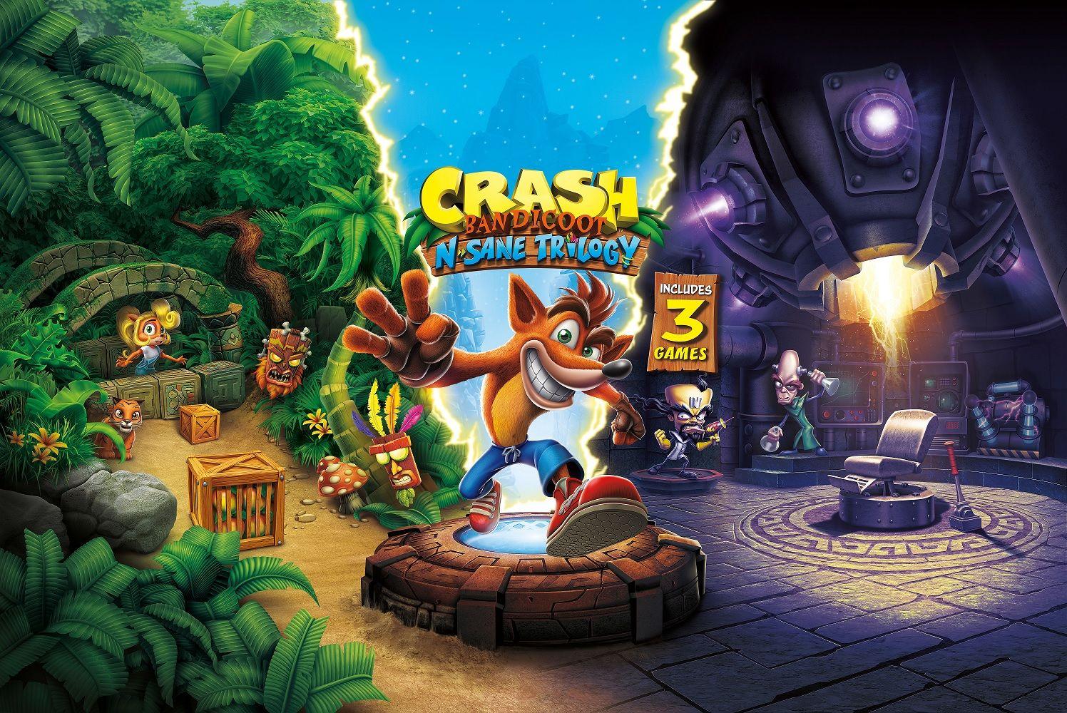 Crash Bandicoot N Sane Trilogy Art Crash Bandicoot Bandicoot Crash
