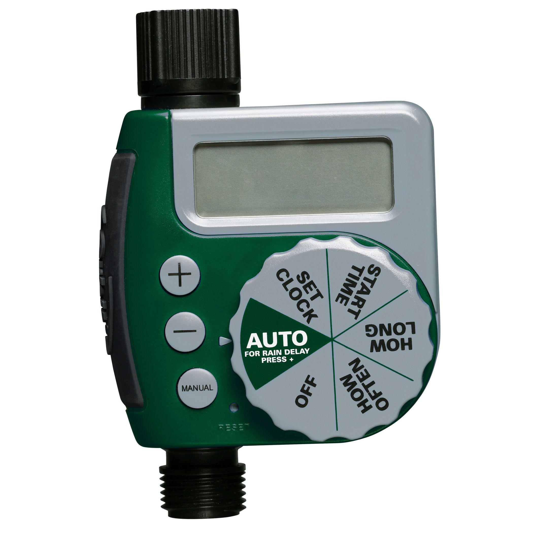 Wonderful Hose Timer Automate Any Sprinkler With Orbits Garden Hose Digital Water  Timer