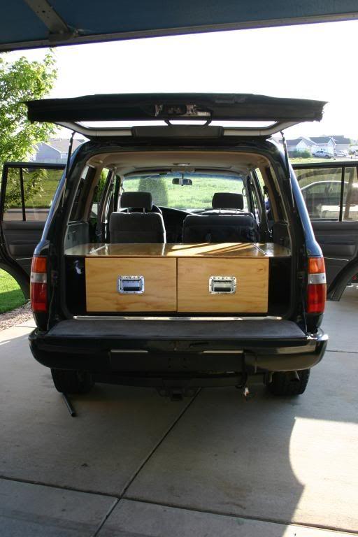 My Drawer System Sleeping Platform Kitchen Box Kitchen Box Camp Kitchen Box Suv Camping