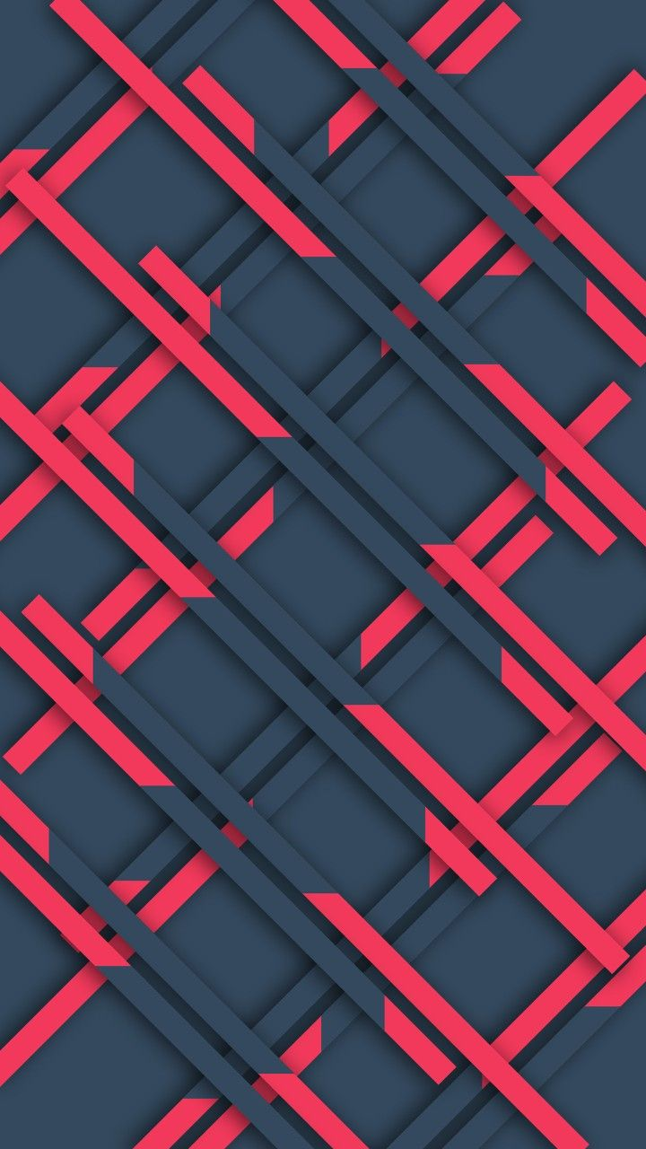 Pink Geometric Wallpaper Abstract And Geometric Wallpapers