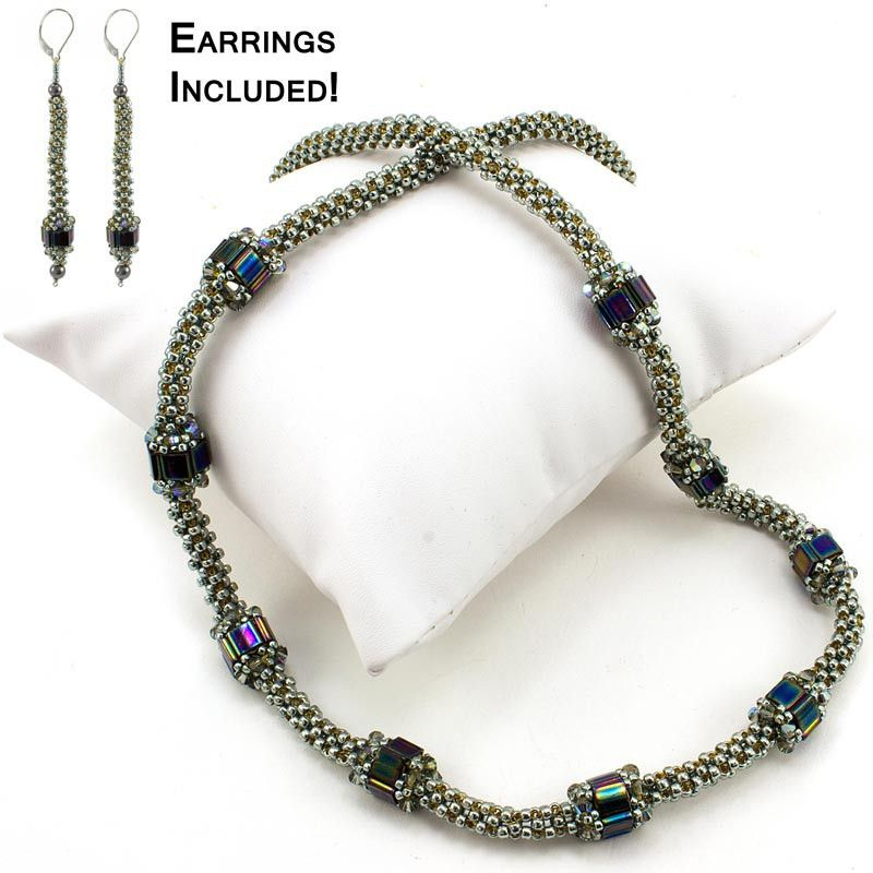 Nara Beads: Garden Path Necklace Bead Weaving Kit