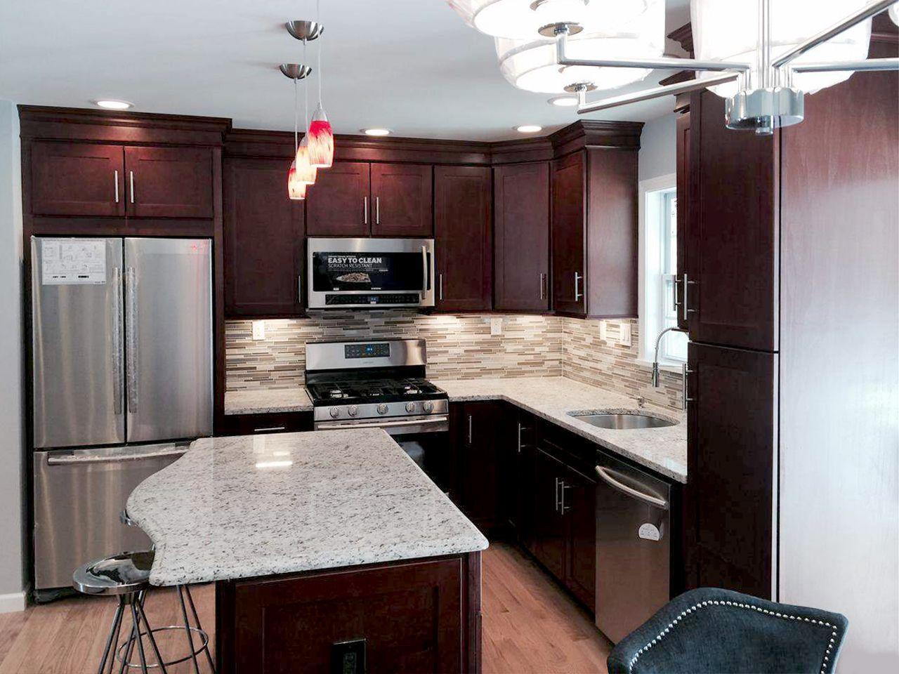 Entire Kitchen Remodel Designed And Purchased At Bargain Outlet's Alluring Kitchen Model Design Inspiration Design