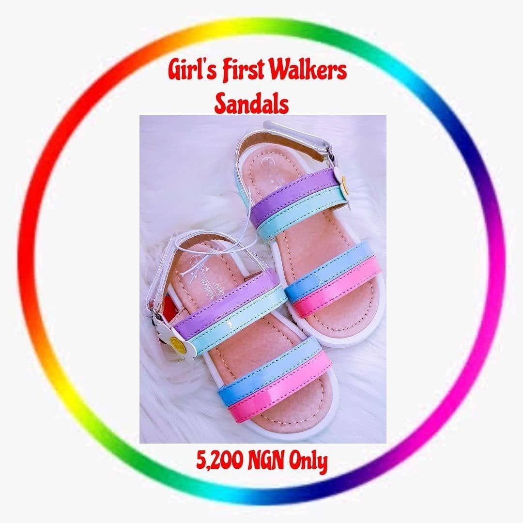 Matalan Girls First Walkers Sandals
