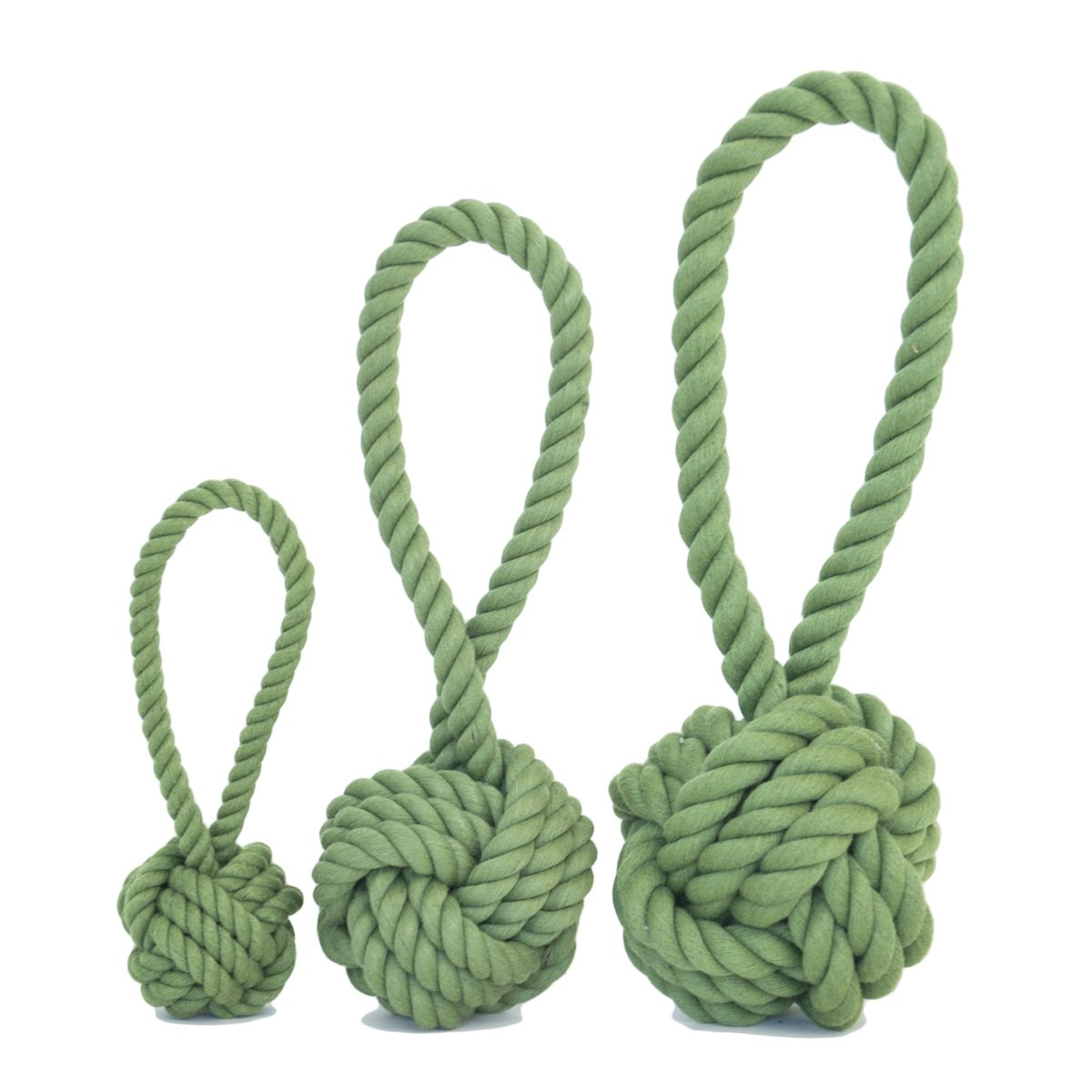 'Green' dog products. Harry Barker tug and toss toys