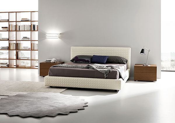 Take Comfort And Style From 15 Modern Upholstered Bed Modern