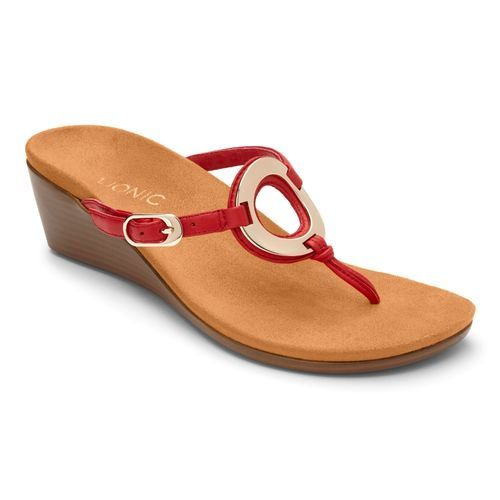 987477096e Vionic Park Orchid - Women s Wedge Sandal - Free Shipping   Returns ...
