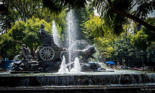 Mexico City, Fountain of Cibiles