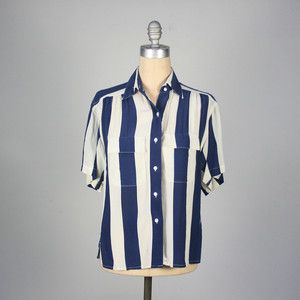Silk Striped Blouse, $44, now featured on Fab.