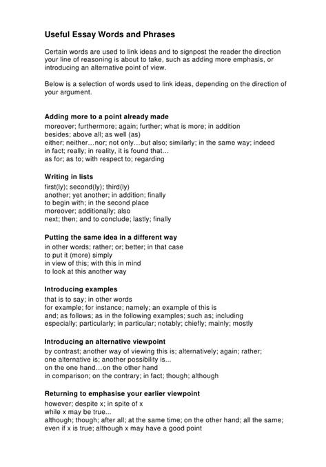 essay writing in english language