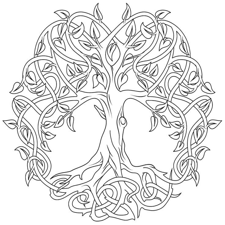 Celtic Coloring Pages - Best Coloring Pages For Kids #coloringpagestoprint