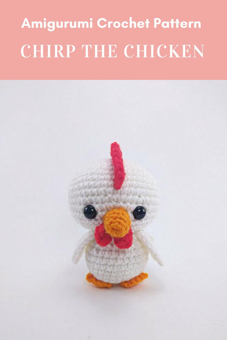 PATTERN: Chicken Family - Crochet chicken pattern - amigurumi ...