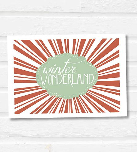 Winter Wonderland Holiday Notecards - Set of 12 | Paperfinch